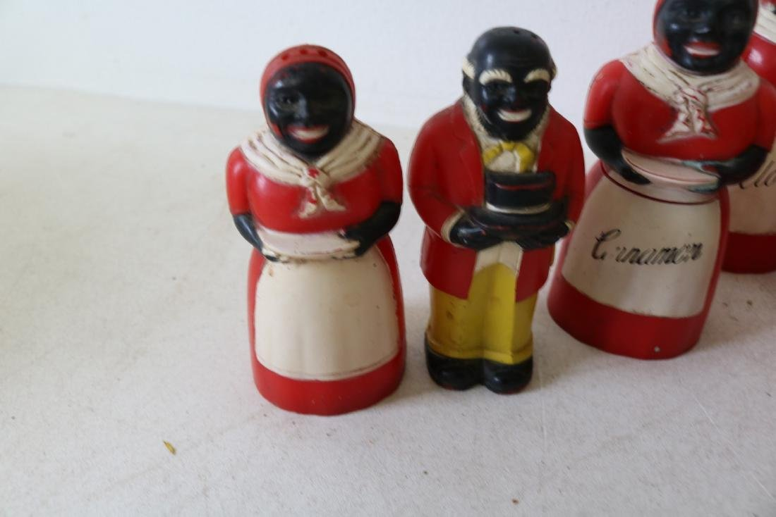 Lot of Aunt Jemima & Butler Spice & Salt & Peppers - 2