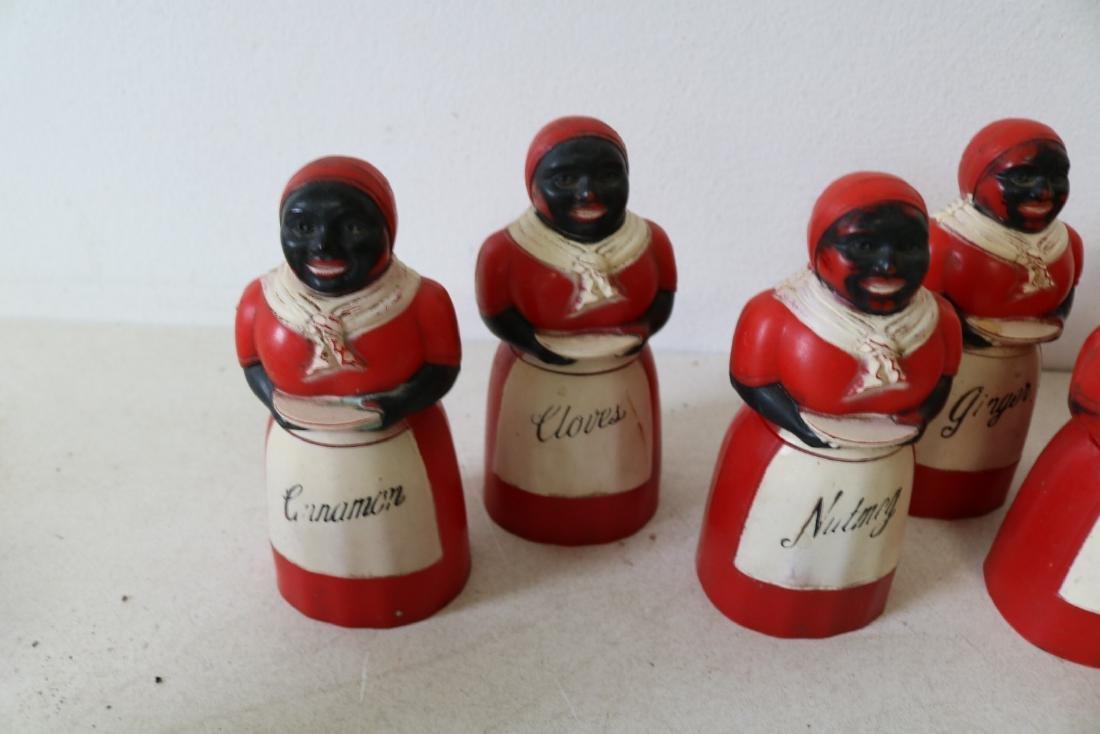 Lot of Aunt Jemima & Butler Spice & Salt & Peppers - 3