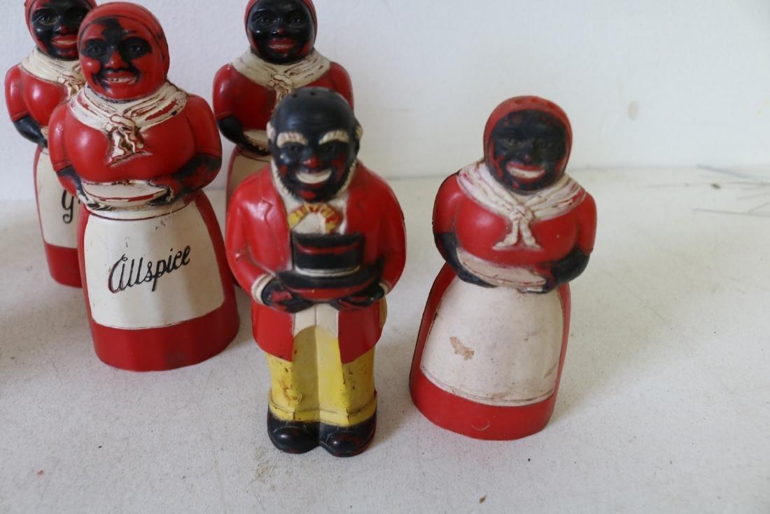 Lot of Aunt Jemima & Butler Spice & Salt & Peppers - 4