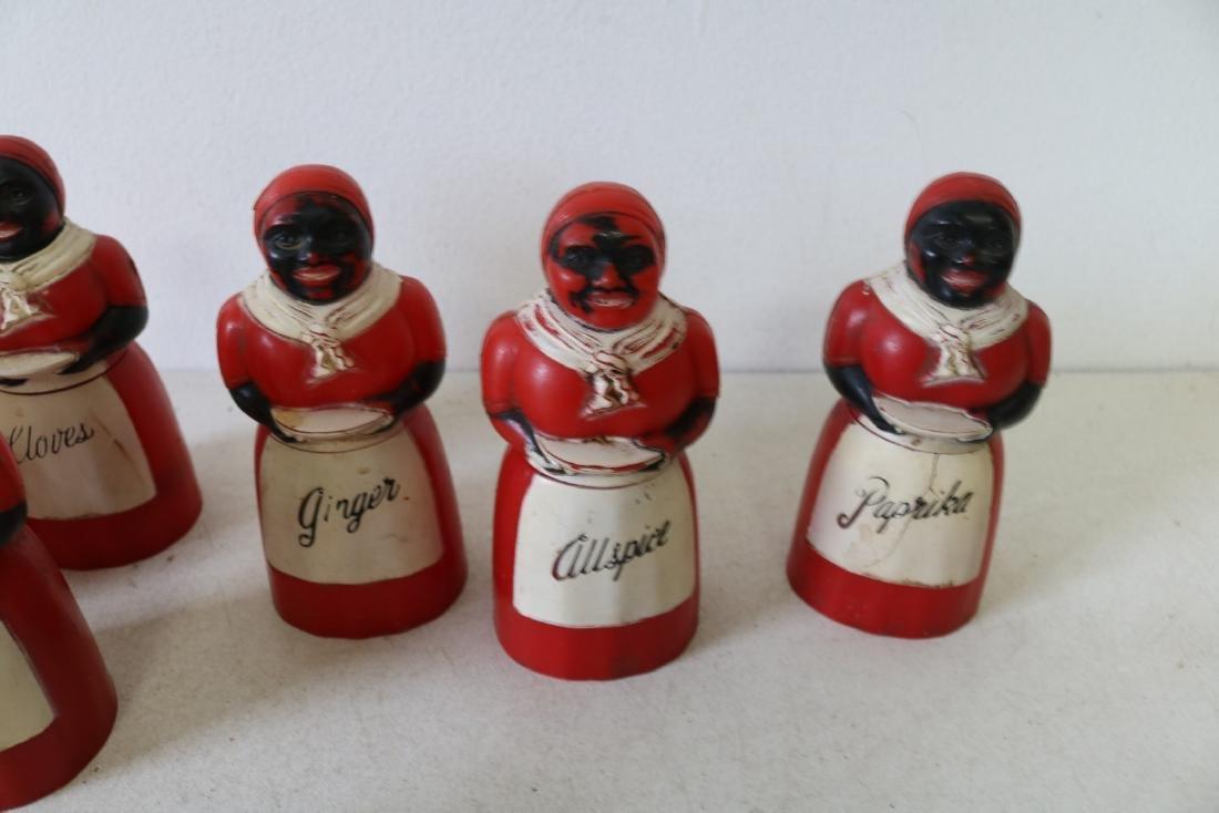 Lot of Aunt Jemima & Butler Spice & Salt & Peppers - 5