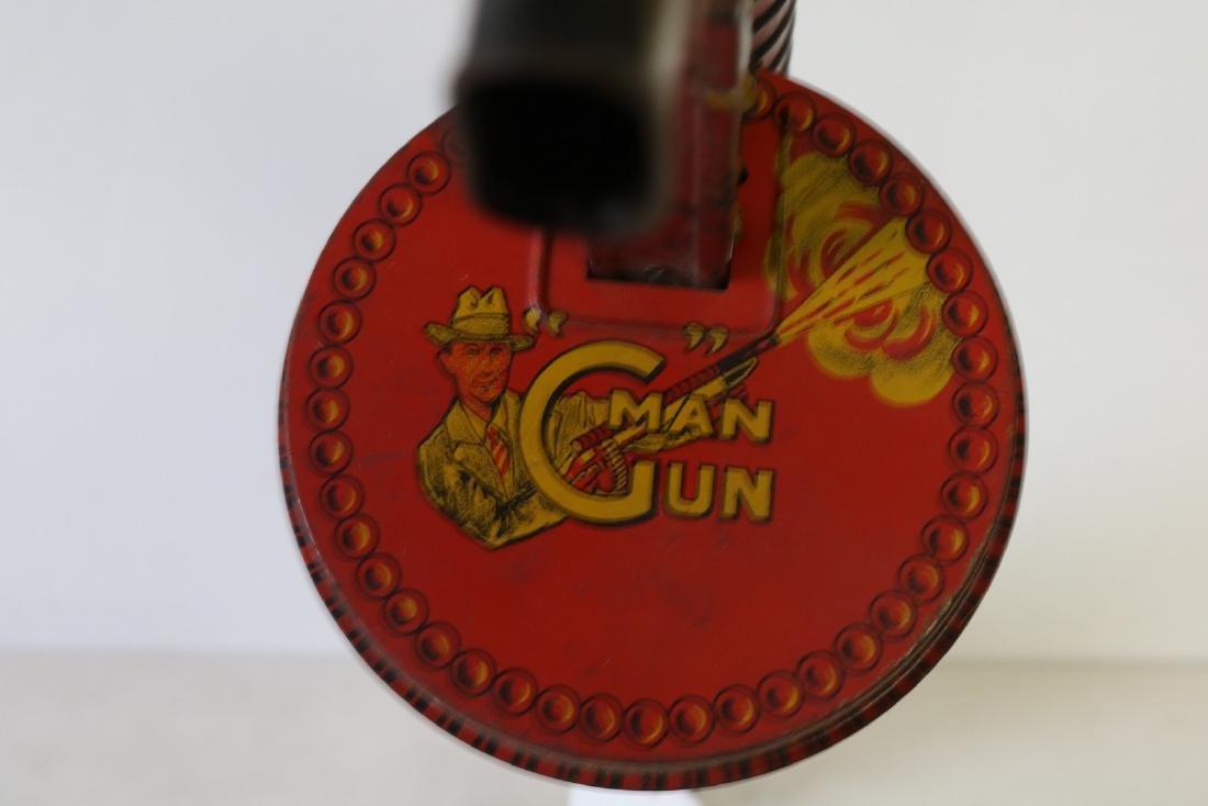 "Marx ""G"" Man Gun, Tin Toy - 4"