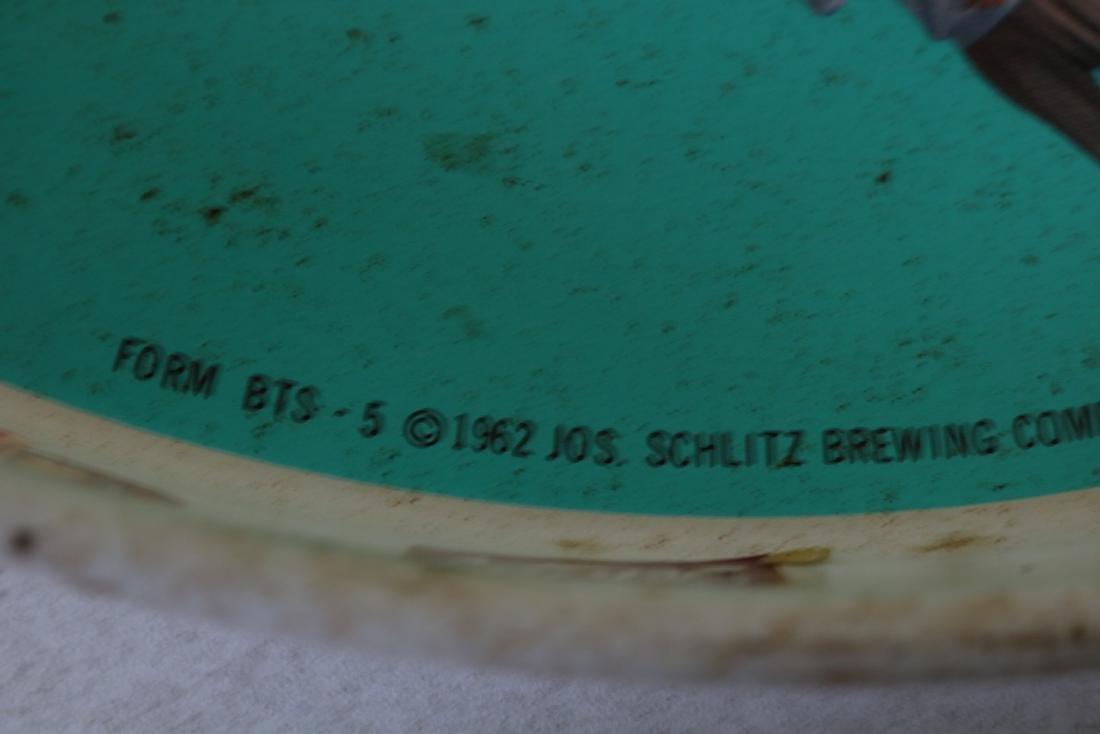 Vintage 1962 Schlitz Beer Tray - 2