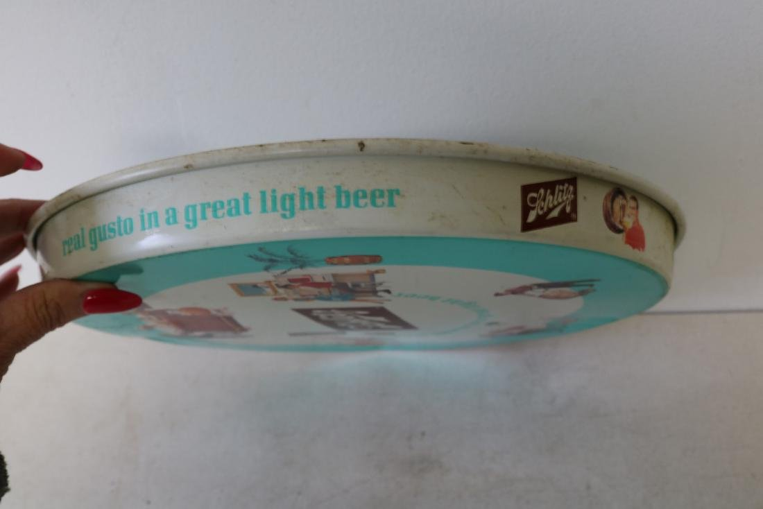 Vintage 1962 Schlitz Beer Tray - 6