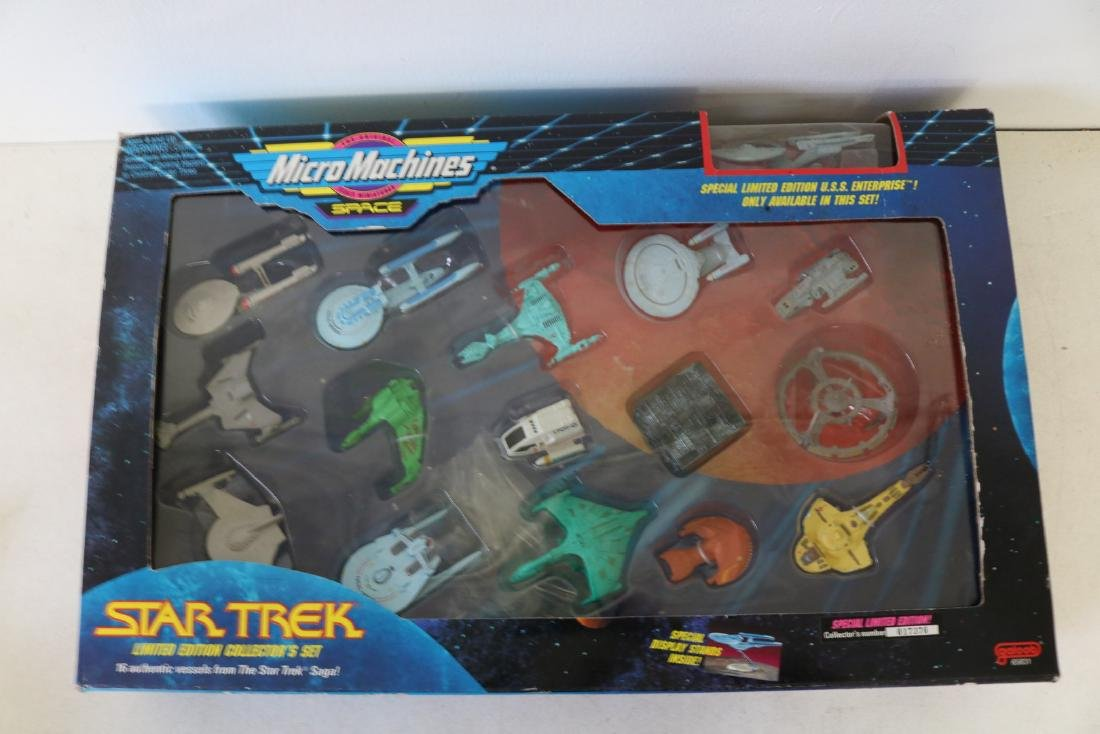 1993 MicroMachines, Star Trek limited edition set