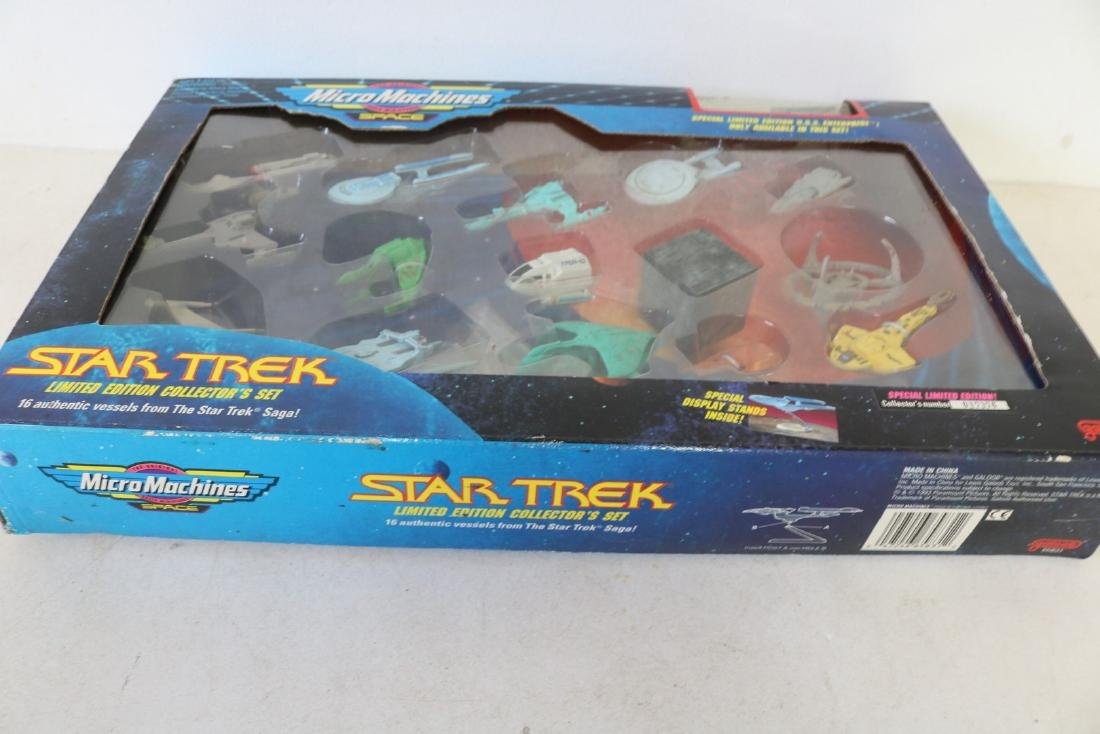 1993 MicroMachines, Star Trek limited edition set - 2