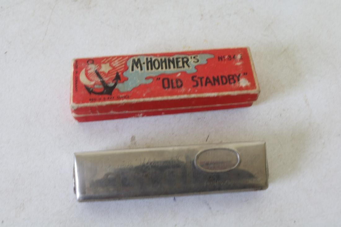 pair of Vintage Harmonica's, Rascal & M-Hohner's