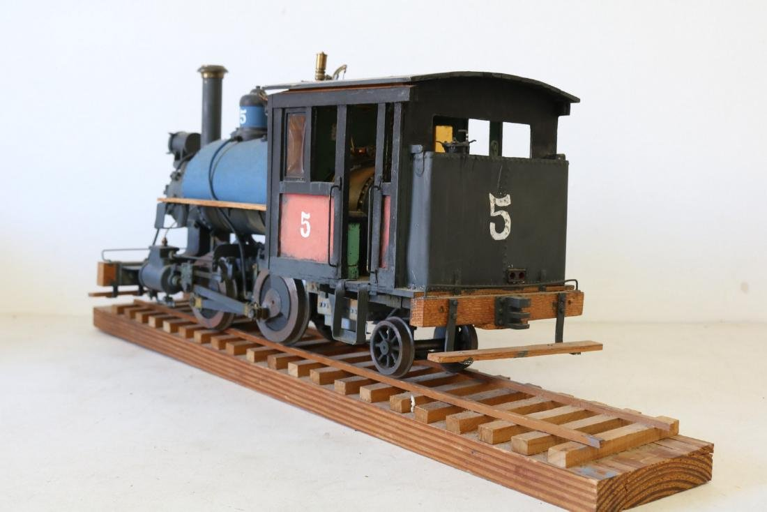 Steam Engine Train all hand made - 4