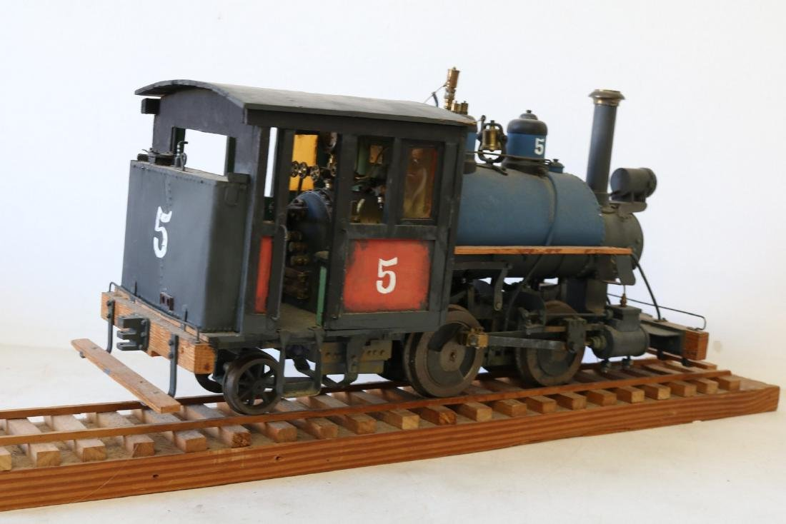 Steam Engine Train all hand made - 5