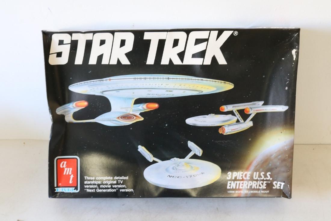 AMT Ertl, Star Trek, 3 piece U S S Enterprise scale
