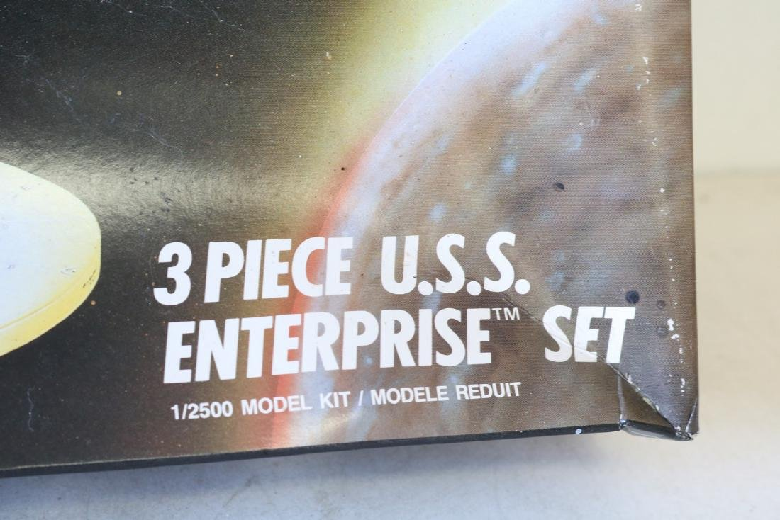 AMT Ertl, Star Trek, 3 piece U S S Enterprise scale - 2