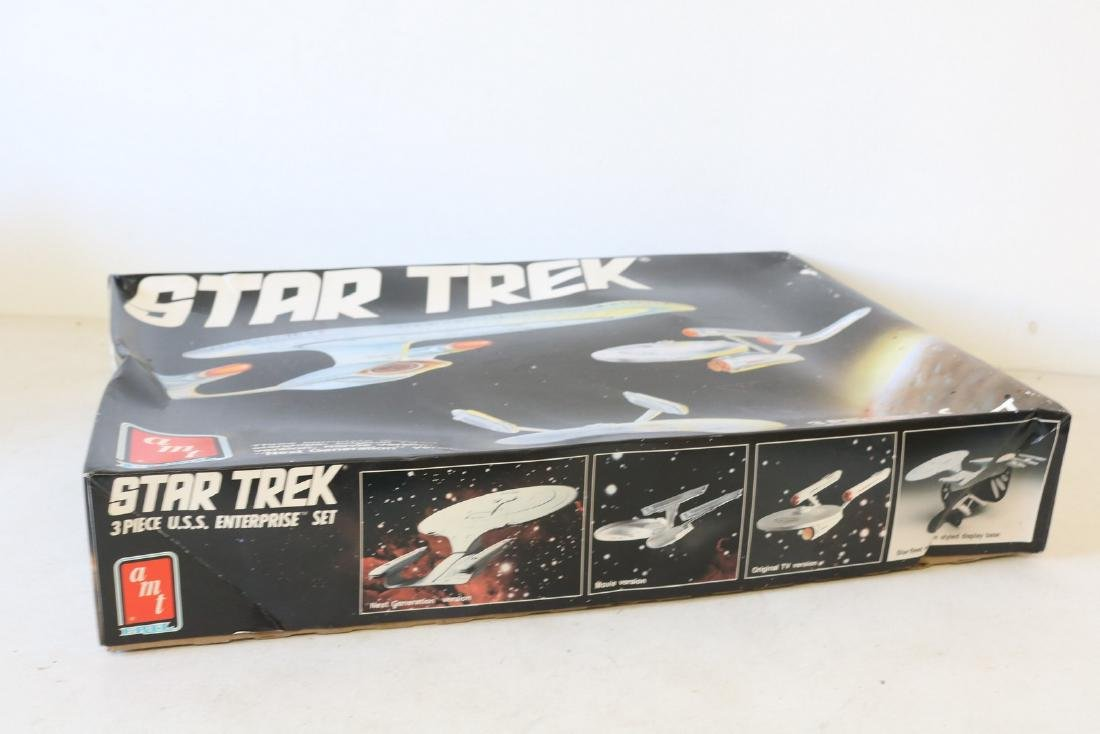 AMT Ertl, Star Trek, 3 piece U S S Enterprise scale - 3