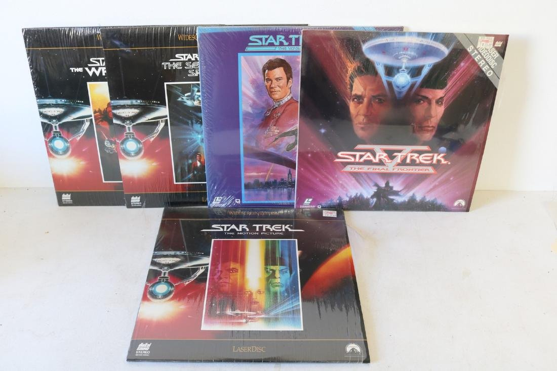 Star Trek Laser Video Disc's
