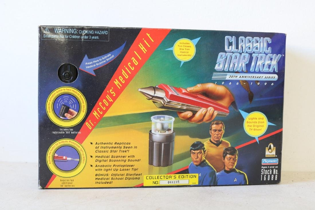 Dr. McCoy's Medical Kit, Star Trek collector's Edition