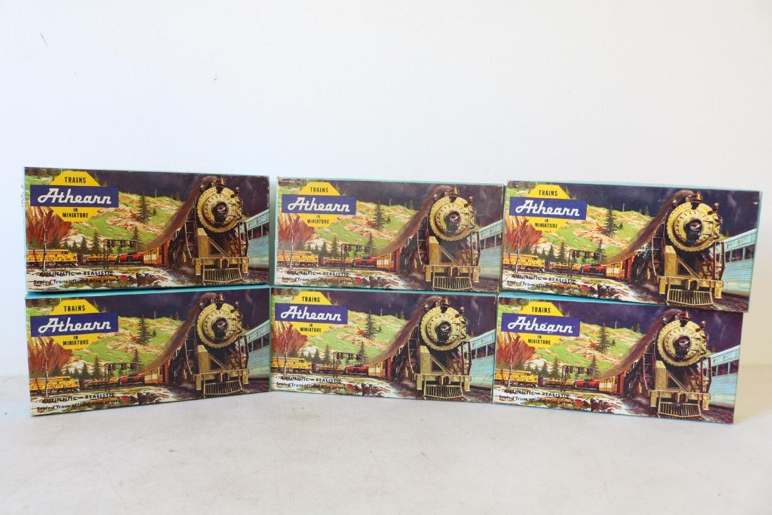Lot of Ahearn H.O. Scale Trains in boxes
