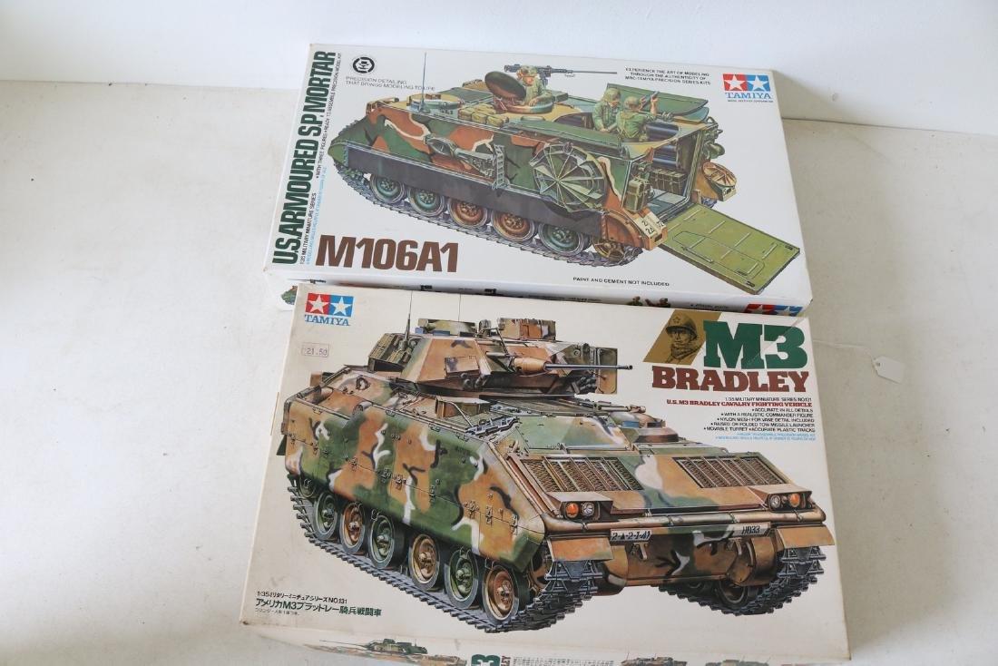 Lot of 2 Tamiya new in box model kits