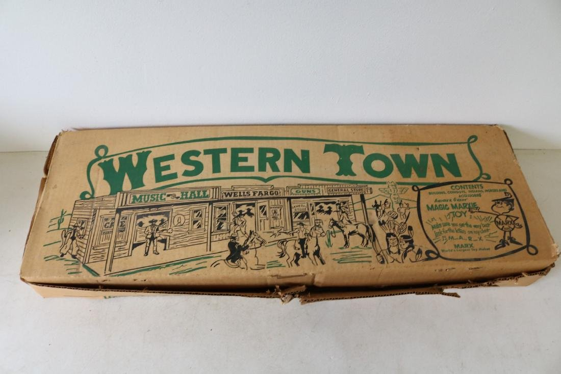 Western Town by Louis Marx Toys