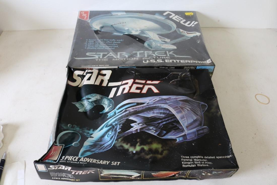 Lot of 2 AMT Star Trek Models