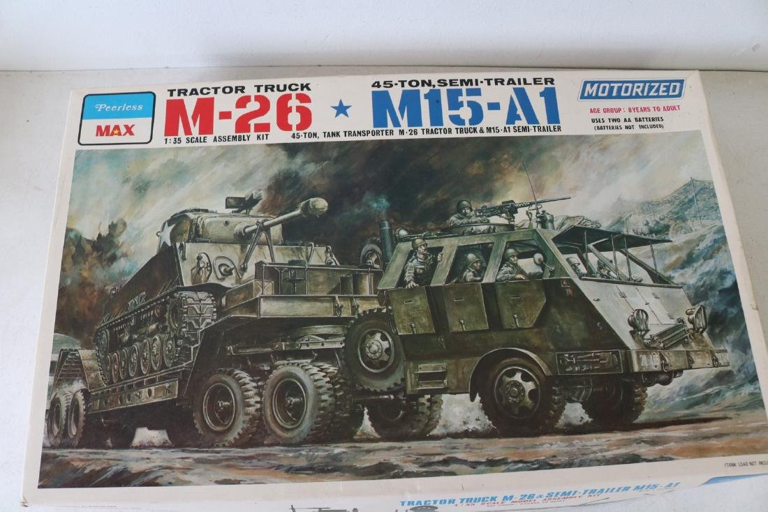 Peerless Motorized Model Kit