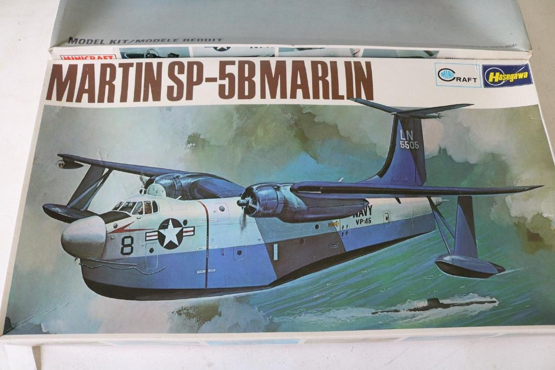 Lot of 2 Model Military Airplanes - 2