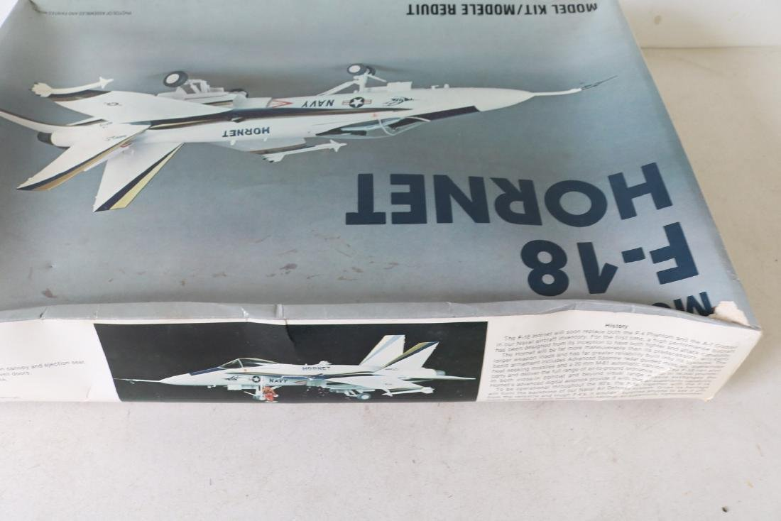 Lot of 2 Model Military Airplanes - 6