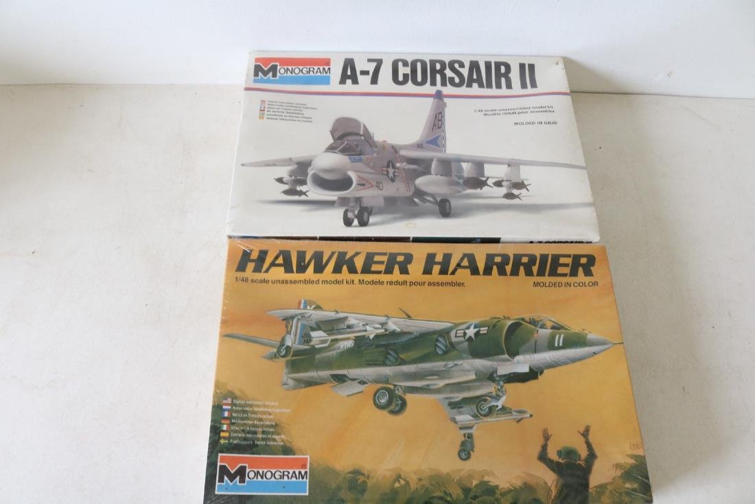 Lot of 2 Monogram Military Model Kits