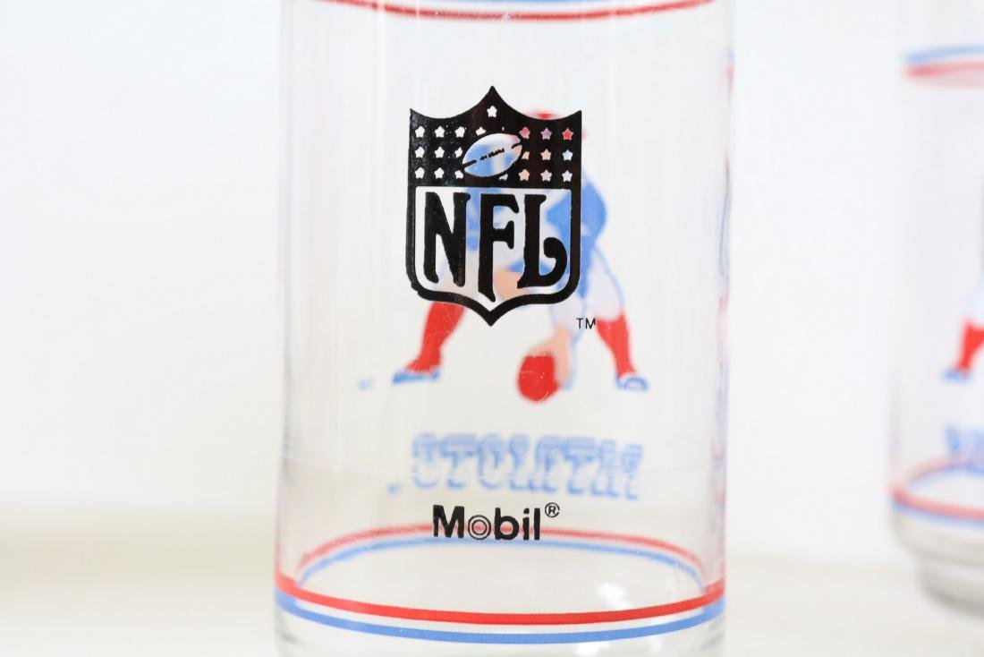 Lot of 6 Patriots Glasses - 3