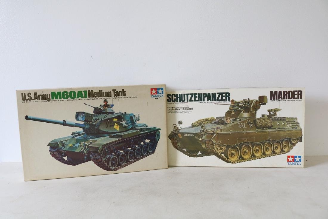 Lot of 2 Tamiya Model Kits