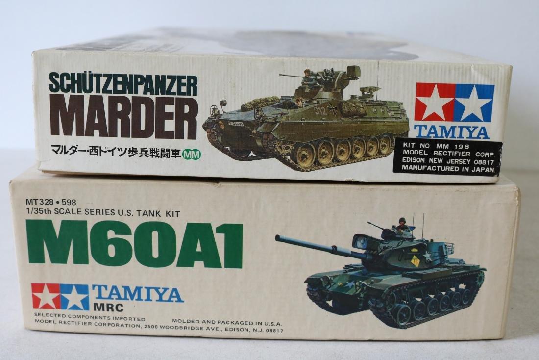 Lot of 2 Tamiya Model Kits - 2