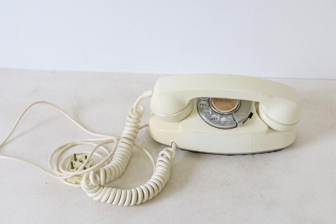 Vintage Princess Phone, rotary dial, by Brook-tel