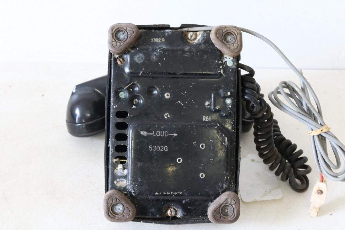Antique Black Rotary Phone, by Bell Systems - 5