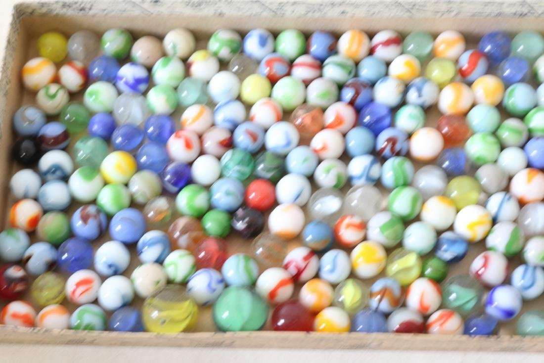 Box lot of vintage marbles - 3