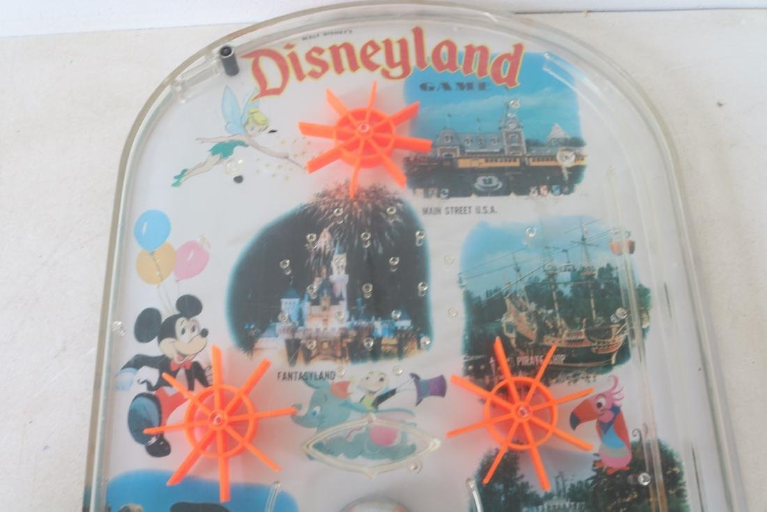 1960s Vintage Disneyland tabletop Pinball Game - 2