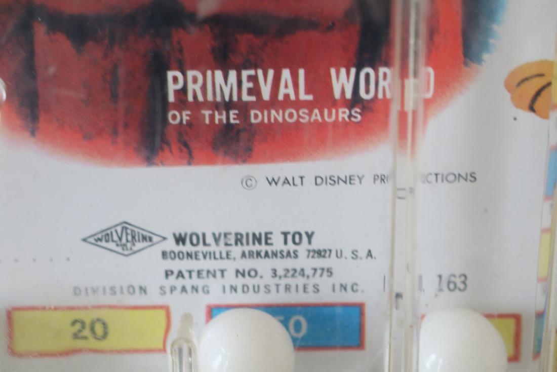 1960s Vintage Disneyland tabletop Pinball Game - 5