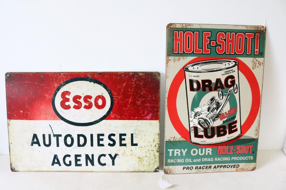 Pair of Auto Signs