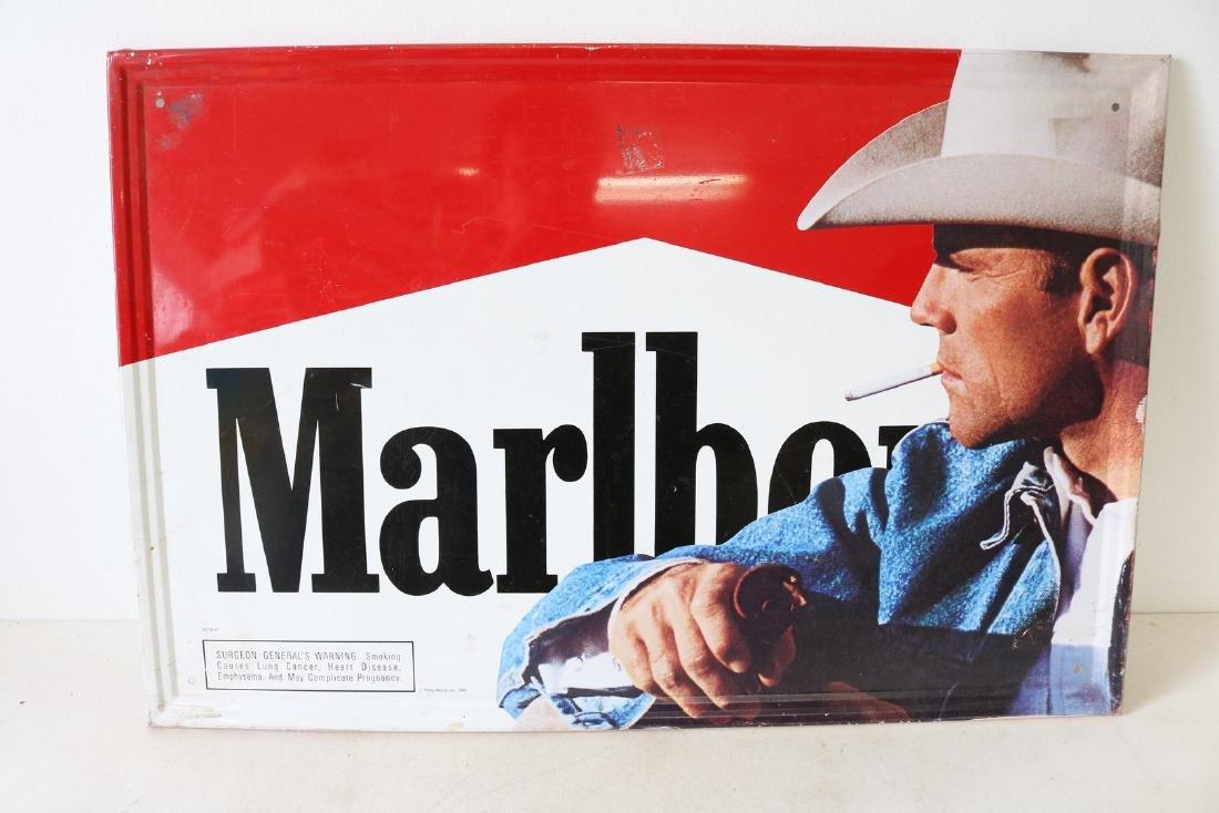 Vintage Marlboro Tin Sign
