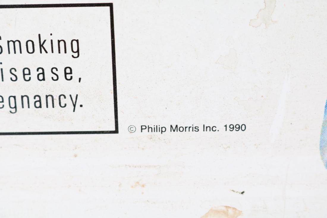 Vintage Marlboro Tin Sign - 2