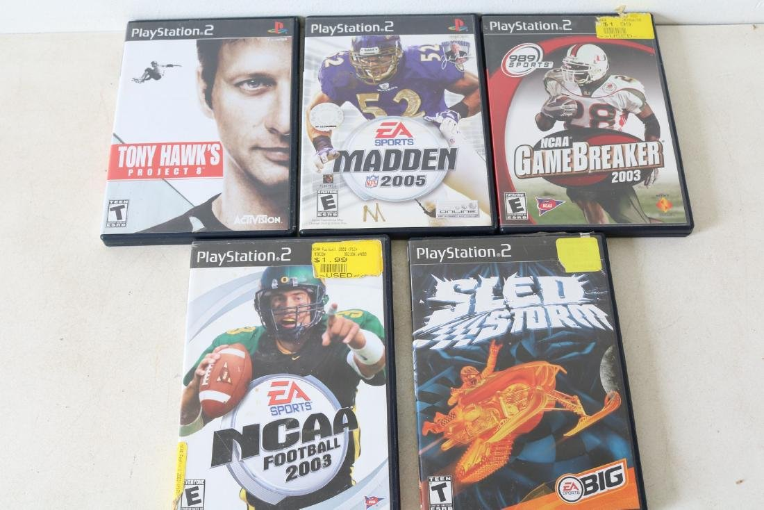 Lot of 5 Playstation 2 games