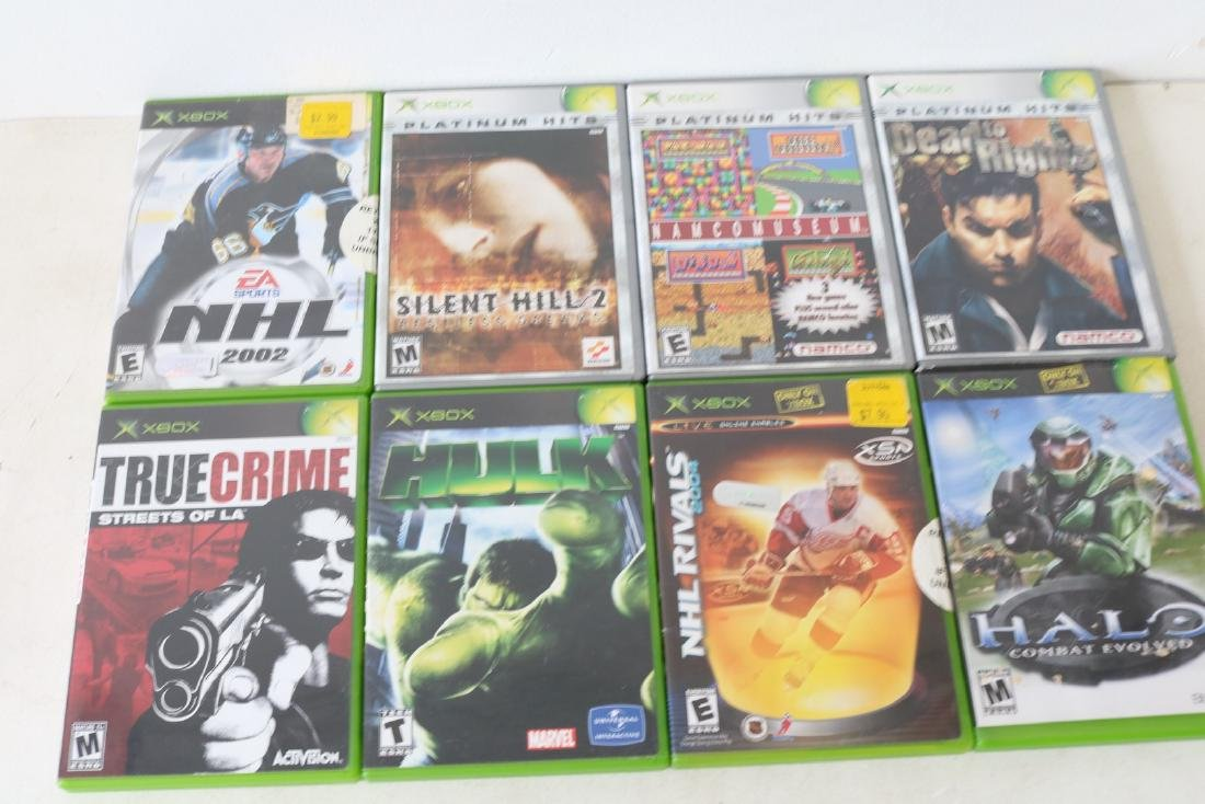 Lot of 8 Xbox games