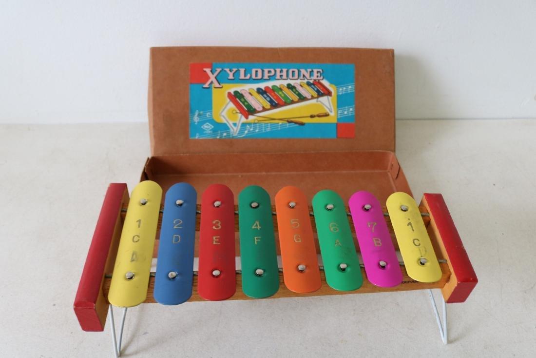 Vintage Metal Xylophone