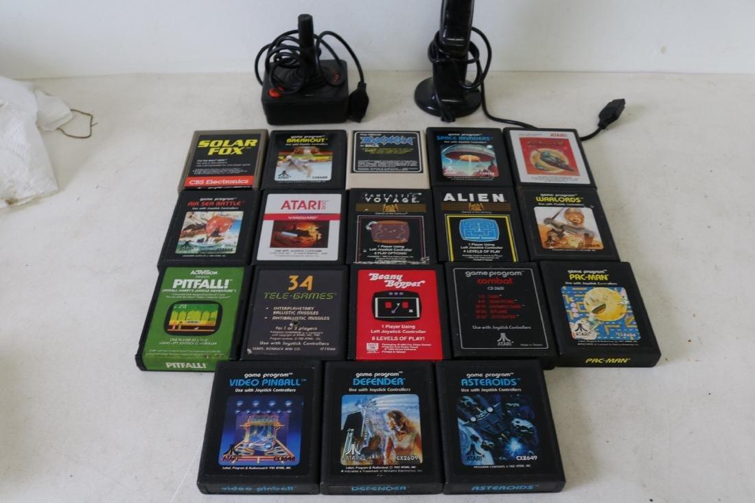 Vintage Activision, Sega and Atari games