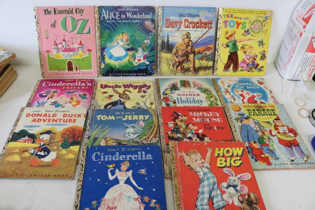 Lot of 14 Vintage Little Golden Books