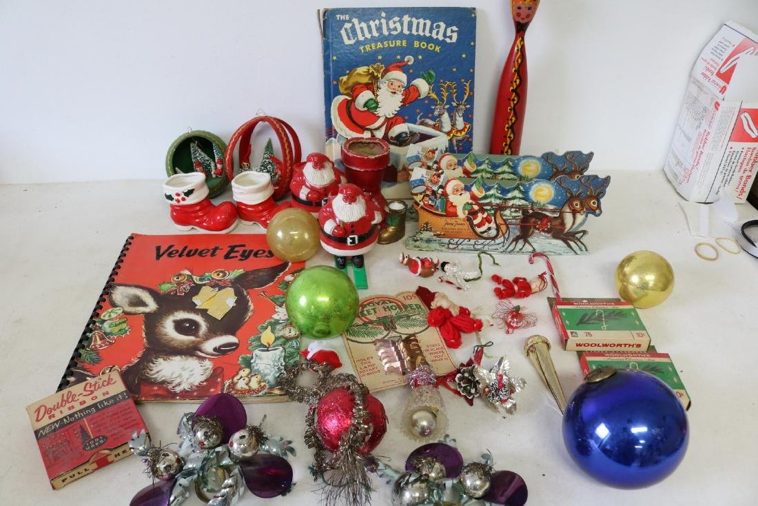 Lot of Vintage Christmas