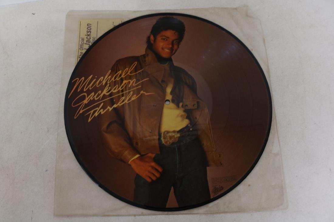 1983 Michael Jackson Thriller Picture Vinyl Record