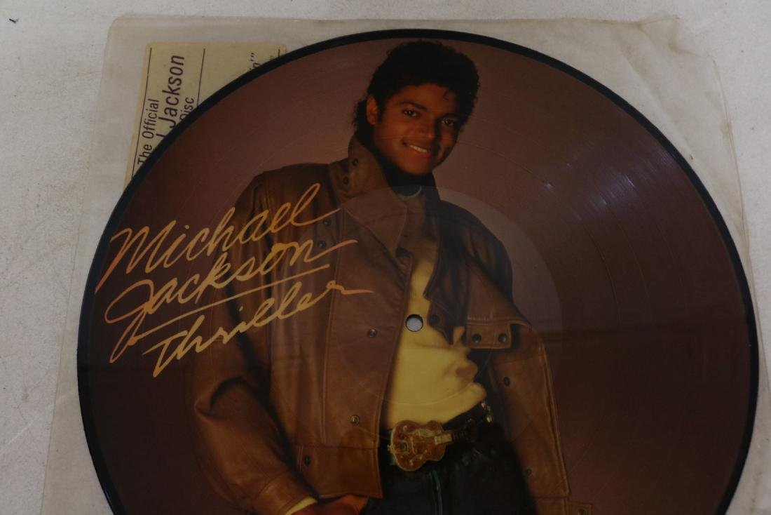 1983 Michael Jackson Thriller Picture Vinyl Record - 2