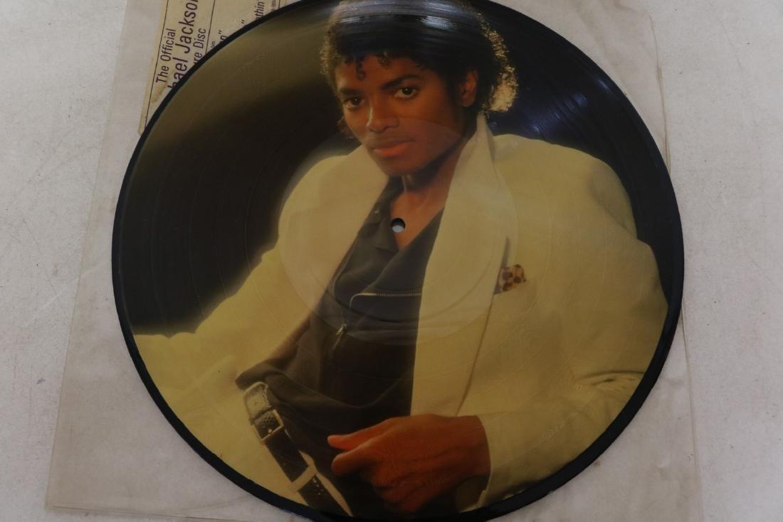 1983 Michael Jackson Thriller Picture Vinyl Record - 3