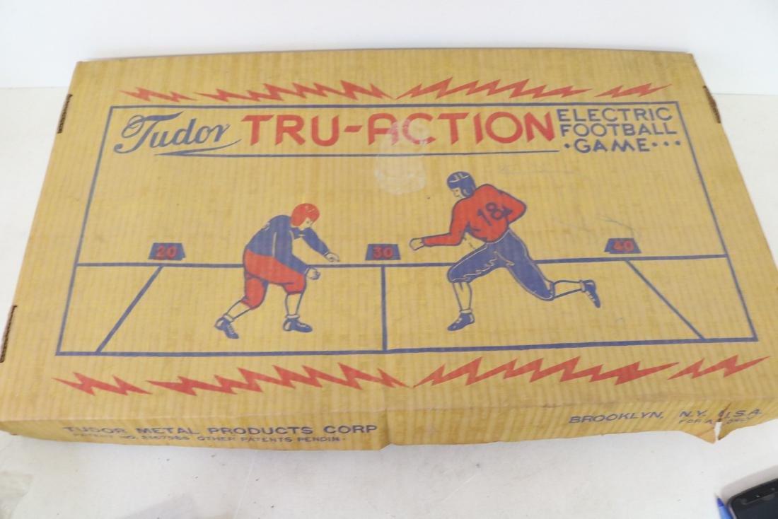 Tudor Tru-Action Football Game in original Box, 1949