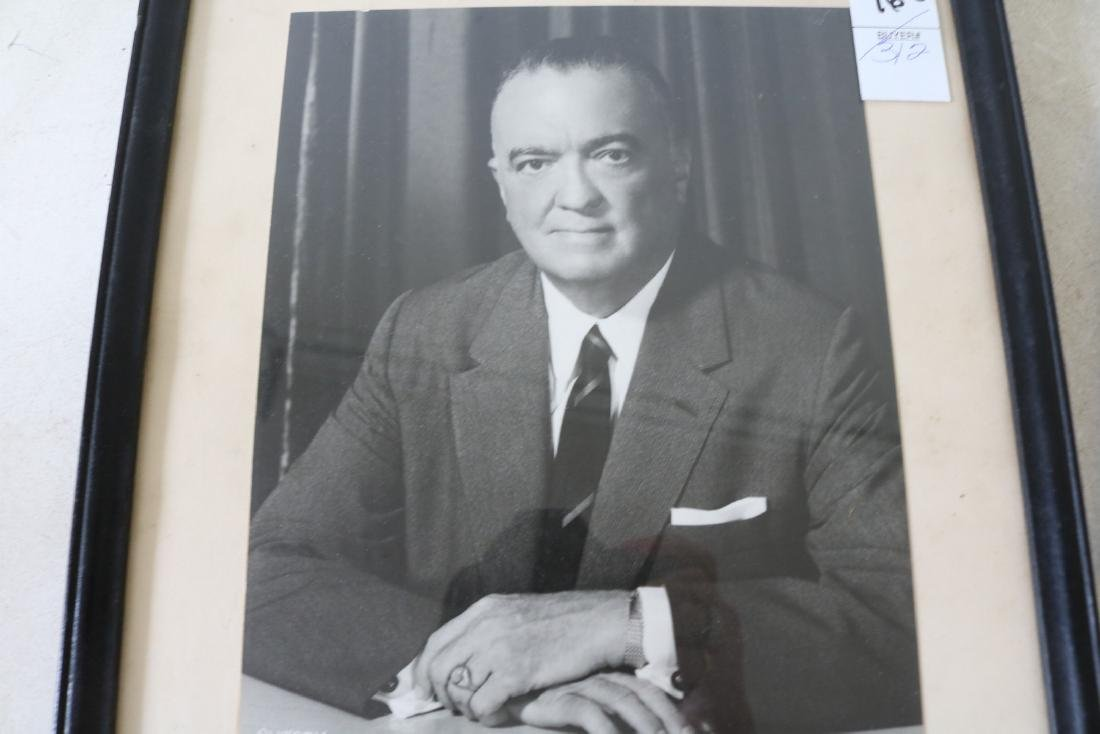 J. Edgar Hoover Autographed Photo 1959