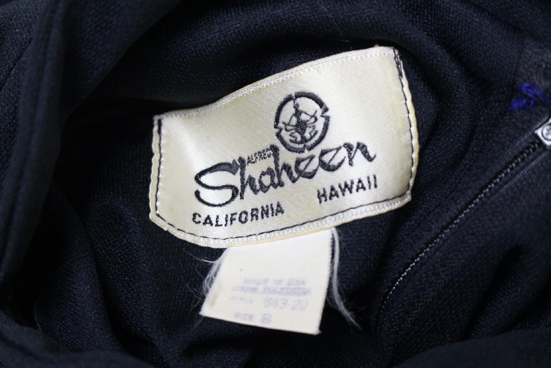 Vintage 1970s Shaheen Angel Sleeve Dress - 4
