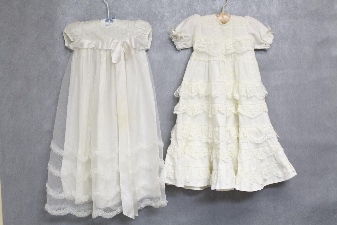 Vintage Lot of 1960s Girls White Gowns