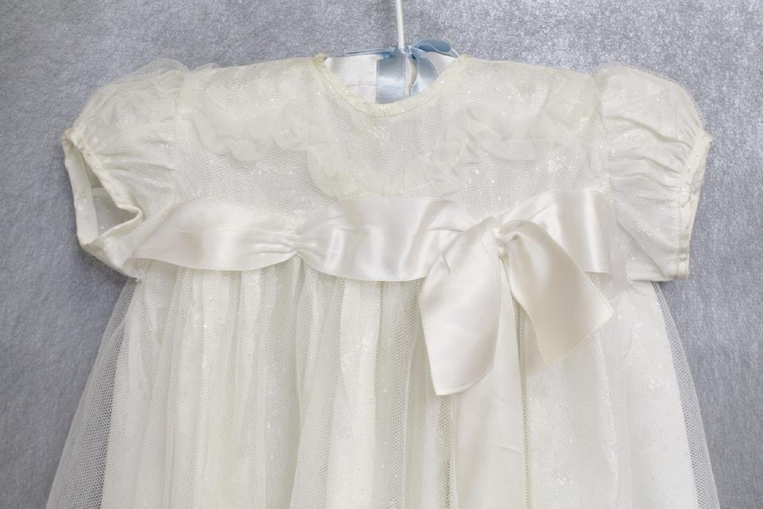 Vintage Lot of 1960s Girls White Gowns - 2